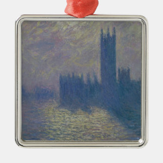 Claude Monet | Houses of Parliament, Stormy Sky Metal Ornament