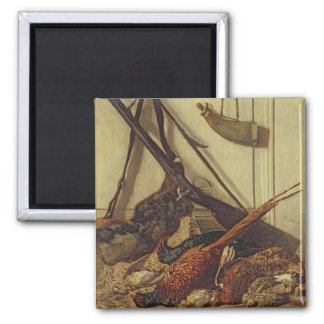 Claude Monet | Hunting Trophies, 1862 2 Inch Square Magnet
