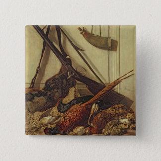 Claude Monet   Hunting Trophies, 1862 Button