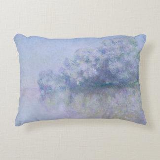 Claude Monet - Ile aux Orties near Vernon Accent Pillow