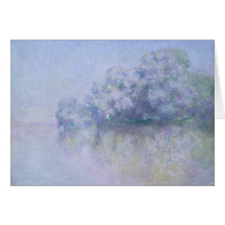 Claude Monet - Ile aux Orties near Vernon Card