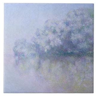 Claude Monet - Ile aux Orties near Vernon Ceramic Tile