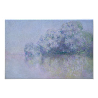 Claude Monet - Ile aux Orties near Vernon Poster