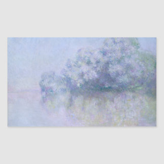 Claude Monet - Ile aux Orties near Vernon Rectangular Sticker