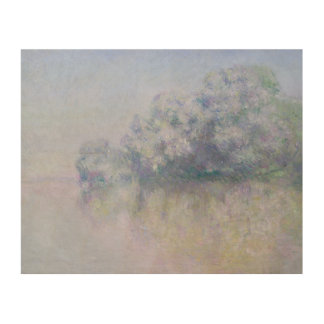 Claude Monet - Ile aux Orties near Vernon Wood Wall Art