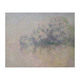 Claude Monet - Ile aux Orties near Vernon Wood Wall Decor