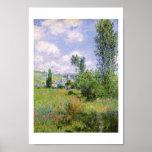 Claude Monet Ile Saint Martin Vetheuil Poster