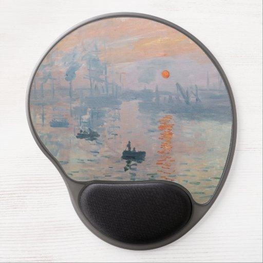 Claude Monet - Impression, Sunrise Gel Mouse Pad