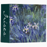 """Claude Monet: Iris Carpeta 2"""""""