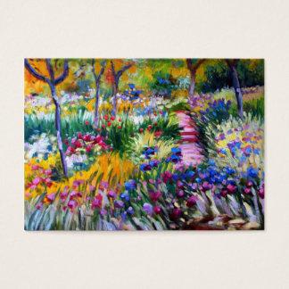 Claude Monet: Iris Garden by Giverny Business Card