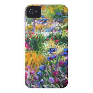 Claude Monet: Iris Garden by Giverny iPhone 4 Cover