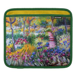 Claude Monet: Iris Garden by Giverny iPad Sleeve