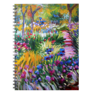 Claude Monet: Iris Garden by Giverny Notebook