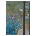 Claude Monet: Irises and Water Lilies iPad Covers