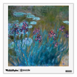 Claude Monet: Irises and Water Lilies Room Decals