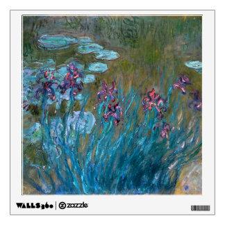 Claude Monet: Irises and Water Lilies Room Decals