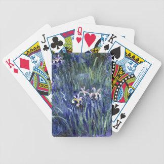 Claude Monet: Irises Bicycle Playing Cards