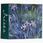 Claude Monet: Irises Binder