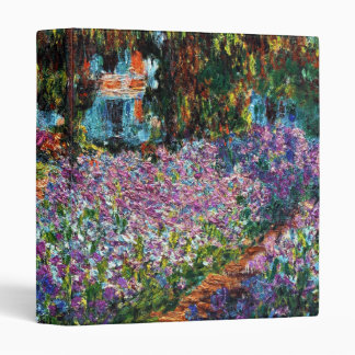 Claude Monet: Irises in Monet's Garden Binder