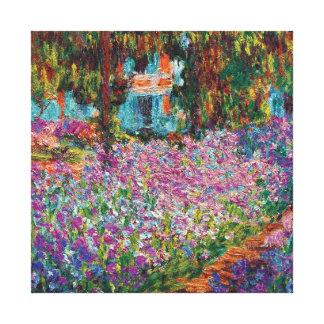 Claude Monet - Irises in Monet's Garden Canvas Print