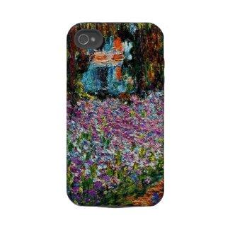 Claude Monet: Irises in Monets Garden