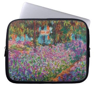 Claude Monet - Irises in Monet's Garden Fine Art Laptop Computer Sleeve