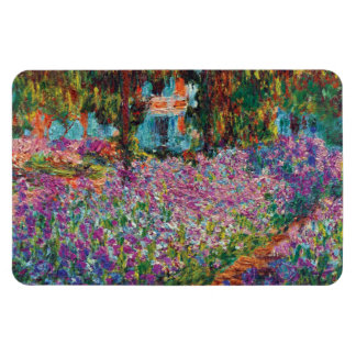 Claude Monet - Irises in Monet's Garden Fine Art Magnet