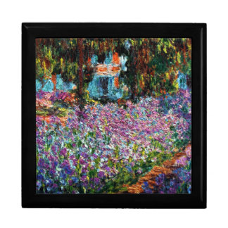 Claude Monet: Irises in Monet's Garden Jewelry Box