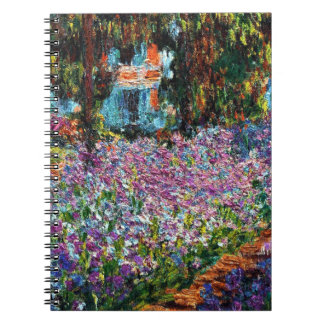 Claude Monet: Irises in Monet's Garden Notebook