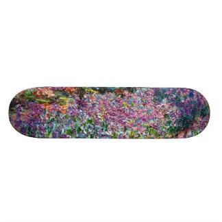 Claude Monet: Irises in Monet's Garden Skateboard