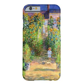 Claude Monet: 'jardín de s en Vétheuil Funda Para iPhone 6 Barely There