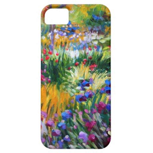 Claude Monet: Jardín del iris por Giverny iPhone 5 Coberturas