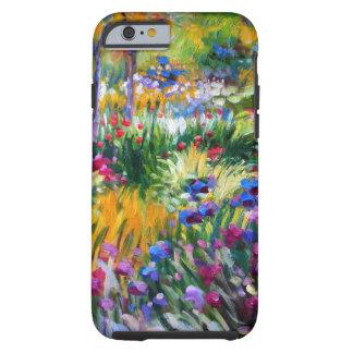 Claude Monet: Jardín del iris por Giverny Funda De iPhone 6 Tough