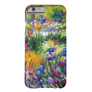 Claude Monet: Jardín del iris por Giverny Funda Barely There iPhone 6