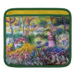 Claude Monet: Jardín del iris por Giverny Fundas Para iPads
