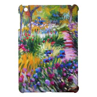 Claude Monet: Jardín del iris por Giverny iPad Mini Carcasa