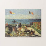 Claude Monet - jardín en el rompecabezas de Sainte
