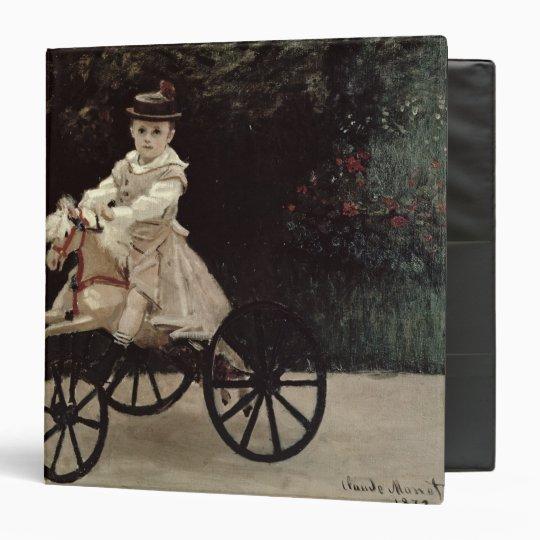Claude Monet | Jean Monet on his Hobby Horse, 1872 Binder