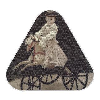 Claude Monet   Jean Monet on his Hobby Horse, 1872 Bluetooth Speaker