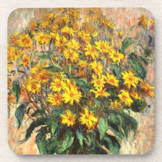 Claude Monet: Jerusalem Artichokes Beverage Coaster