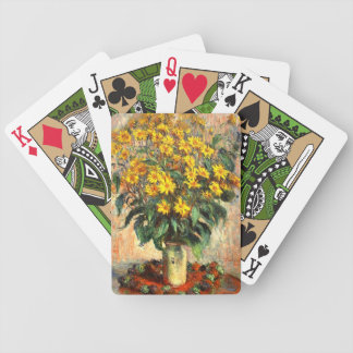 Claude Monet: Jerusalem Artichokes Bicycle Playing Cards