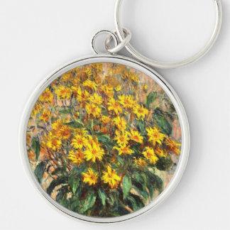 Claude Monet: Jerusalem Artichokes Keychain