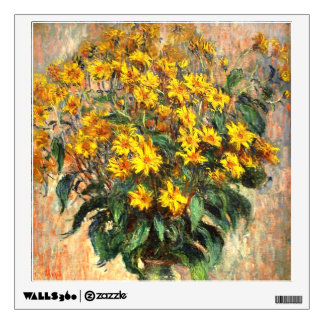Claude Monet: Jerusalem Artichokes Wall Decal