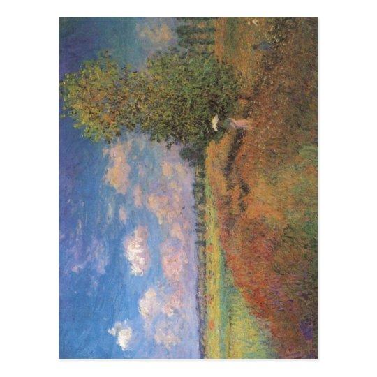 Claude Monet L'?t?. Champ de coquelicots (Klatschm Postcard