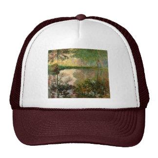 Claude Monet: La charca en Montgeron Gorras De Camionero