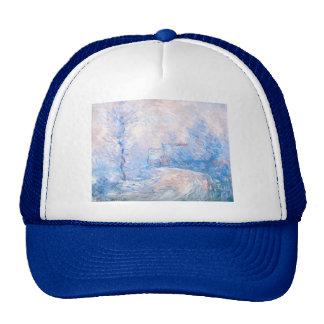 Claude Monet: La entrada a Giverny debajo de la Gorros
