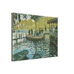 Claude Monet - La Grenouillere Impresión En Lona