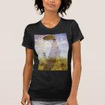 Claude Monet - la mujer con el parasol Playera