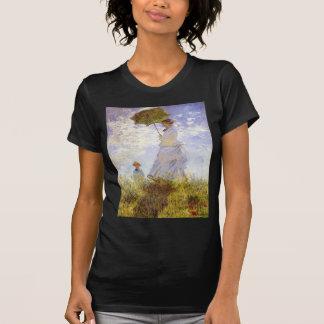 Claude Monet - la mujer con el parasol Camiseta