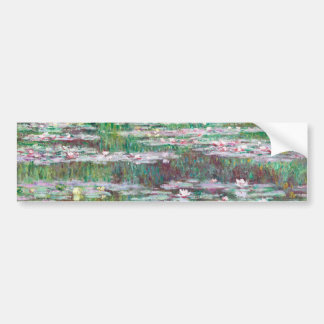 Claude Monet la pasarela japonesa Pegatina Para Coche